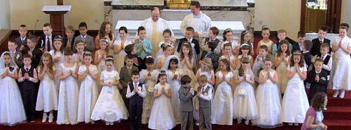St. Comgall&#039;s 1st Communion