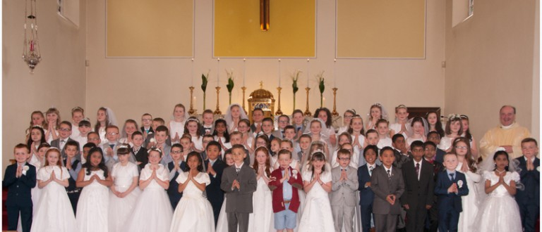 St. Comgall's First Holy Communion Day 06.06.15