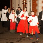 Processing to the Evening Prayer in St. ComgallsFrOvi