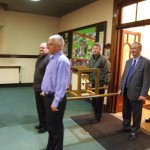 Carrying Bell into St Comgall's Church